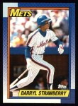 1990 Topps #600  Darryl Strawberry  Front Thumbnail
