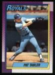 1990 Topps #727  Pat Tabler  Front Thumbnail