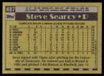 1990 Topps #487  Steve Searcy  Back Thumbnail