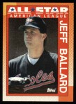 1990 Topps #394   -  Jeff Ballard All-Star Front Thumbnail