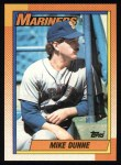 1990 Topps #522  Mike Dunne  Front Thumbnail
