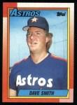 1990 Topps #746  Dave Smith  Front Thumbnail
