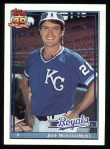 1991 Topps #371  Jeff Montgomery  Front Thumbnail