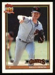 1991 Topps #733  Kelly Downs  Front Thumbnail
