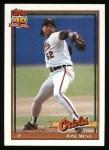 1991 Topps #512  Jose Mesa  Front Thumbnail