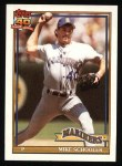 1991 Topps #365  Mike Schooler  Front Thumbnail