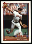 1991 Topps #477  Mike Fetters  Front Thumbnail