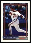 1992 Topps #364  Glenallen Hill  Front Thumbnail