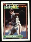 1992 Topps #407   -  Bryan Harvey All-Star Front Thumbnail