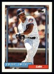 1992 Topps #168  Dwight Smith  Front Thumbnail