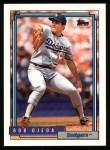 1992 Topps #123  Bob Ojeda  Front Thumbnail
