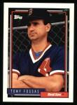1992 Topps #249  Tony Fossas  Front Thumbnail