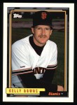 1992 Topps #573  Kelly Downs  Front Thumbnail