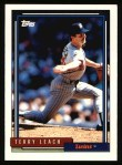 1992 Topps #644  Terry Leach  Front Thumbnail