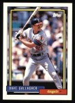 1992 Topps #552  Dave Gallagher  Front Thumbnail