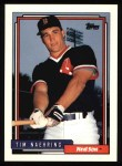 1992 Topps #758  Tim Naehring  Front Thumbnail