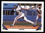 1993 Topps #547  Ryan Thompson  Front Thumbnail