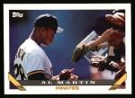 1993 Topps #623  Al Martin  Front Thumbnail