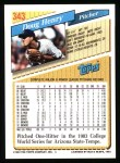 1993 Topps #343  Doug Henry  Back Thumbnail