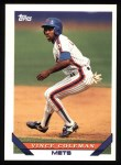 1993 Topps #765  Vince Coleman  Front Thumbnail