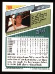1993 Topps #789  Jeff Conine  Back Thumbnail