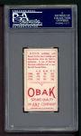 1911 T212 Obak RED Davis  Back Thumbnail