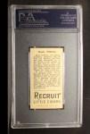 1912 T207  Buck O'Brien    Back Thumbnail