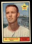 1961 Topps #129  Ed Hobaugh  Front Thumbnail