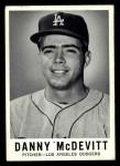 1960 Leaf #50  Danny McDevitt  Front Thumbnail