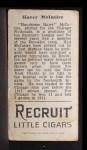 1912 T207  Harry McIntire    Back Thumbnail