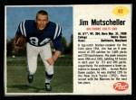 1962 Post #83  Jim Mutscheller  Front Thumbnail
