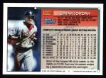 1994 Topps #632  Brian Jordan  Back Thumbnail