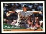 1994 Topps #282  Mike Mohler  Front Thumbnail