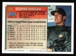 1994 Topps #282  Mike Mohler  Back Thumbnail