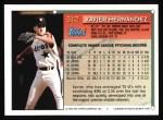 1994 Topps #512  Xavier Hernandez  Back Thumbnail