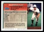 1994 Topps #361  Rob Butler  Back Thumbnail