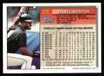 1994 Topps #106  Daryl Boston  Back Thumbnail