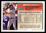 1994 Topps #327  Mark Carreon  Back Thumbnail