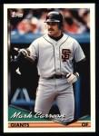 1994 Topps #327  Mark Carreon  Front Thumbnail