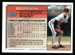 1994 Topps #409  Joe Klink  Back Thumbnail