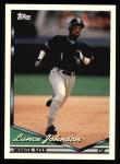 1994 Topps #452  Lance Johnson  Front Thumbnail