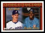 1994 Topps #784  Rondell White  /  Gabe White  Front Thumbnail