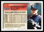 1994 Topps #646  Ken Caminiti  Back Thumbnail