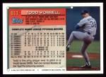 1994 Topps #611  Todd Worrell  Back Thumbnail