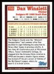 1994 Topps #755  Dax Winslett  Back Thumbnail