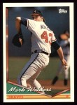 1994 Topps #232  Mark Wohlers  Front Thumbnail