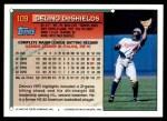 1994 Topps #109  Delino DeShields  Back Thumbnail