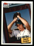 1994 Topps #761  David Cooper  Front Thumbnail
