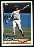 1994 Topps #731  Chris Gwynn  Front Thumbnail