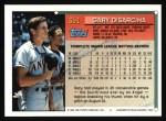1994 Topps #351  Gary DiSarcina  Back Thumbnail